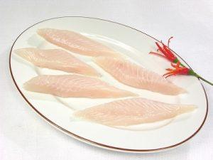 Pangasius fish slice